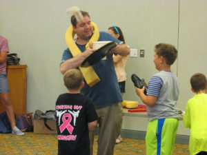 Let's Play! company at Pulaski County Public Library summer reading