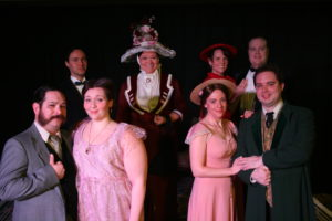 The importance of Being Earnest cast, 2016
