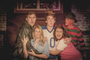 A Nightmare on Backstreet: a boy band musical parody | Flashback Theater Co. | October 28 & 29, 2016
