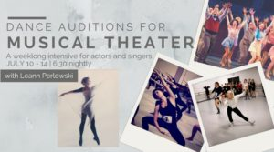 Dance Auditions for Musical Theater