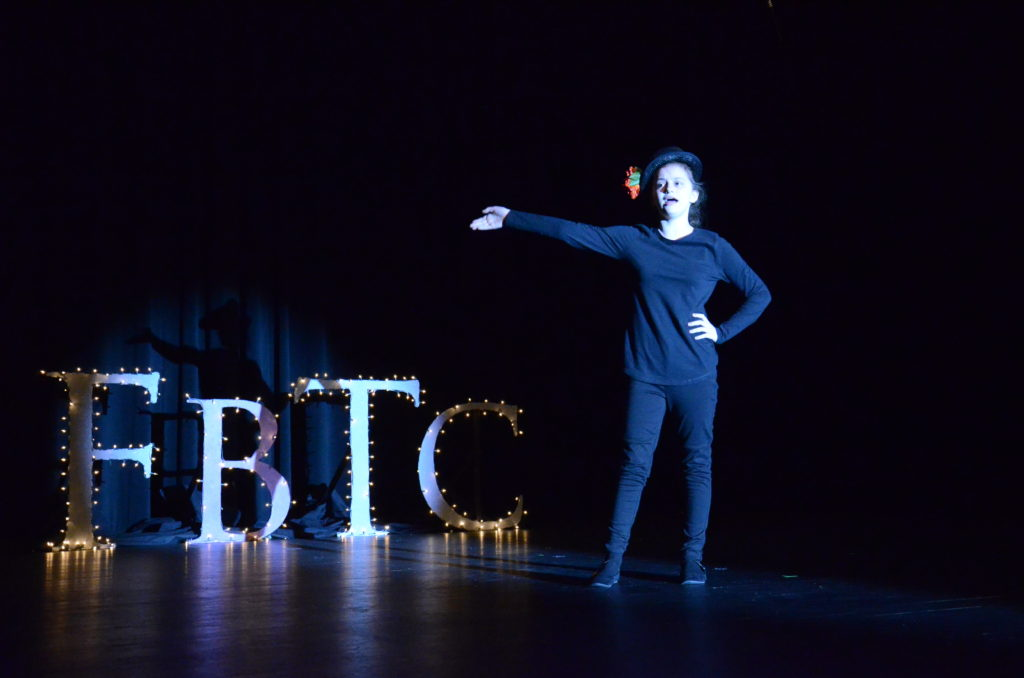 Bella Allison displays her talents at the 2017 FbTC Cabaret